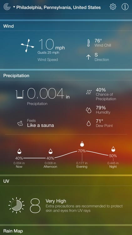 Weather Live - Weather Forecast, Radar and Alerts screenshot-3