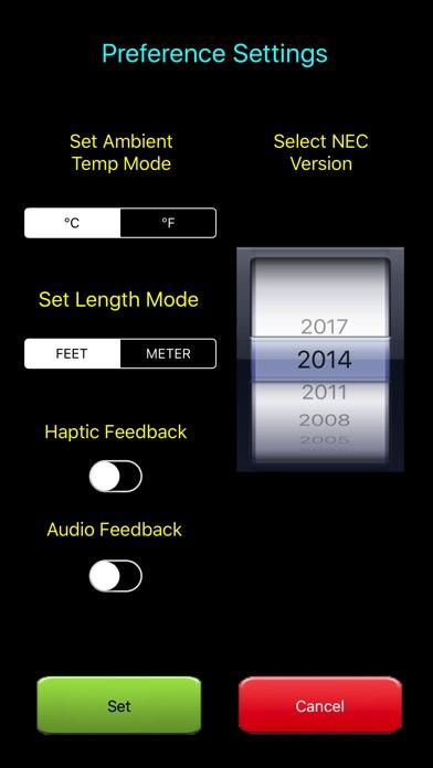 Tapnova electrical calc elite nec code calculator tapnova new in version 16 greentooth Image collections