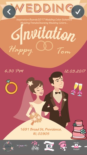 Wedding invitation greeting cards maker on the app store wedding invitation greeting cards maker on the app store stopboris Gallery