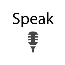 Speak For Me App