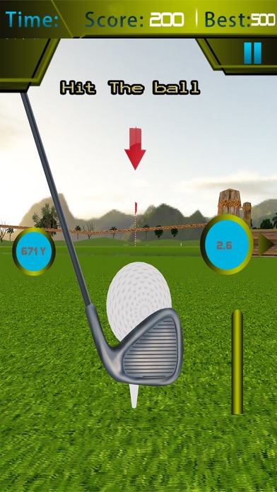 Real Golf Star Championship 2017 screenshot one