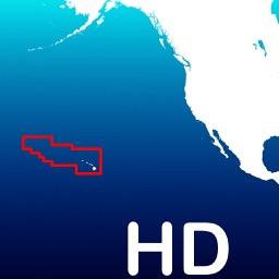 Aqua Map Hawaii - GPS with Offline Nautical Charts