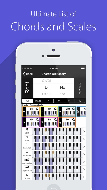 Piano Chords Scales Companion Pro and Progressions screenshot-0
