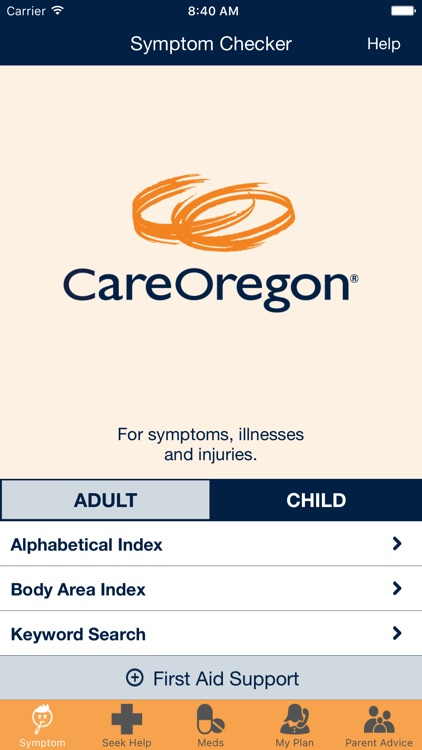 CareOregon mobile app