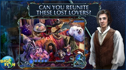 Dark Romance: Curse of Bluebeard - Hidden Objects screenshot 2