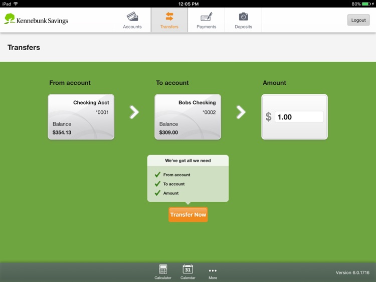 Kennebunk Savings Mobile for iPad screenshot-3