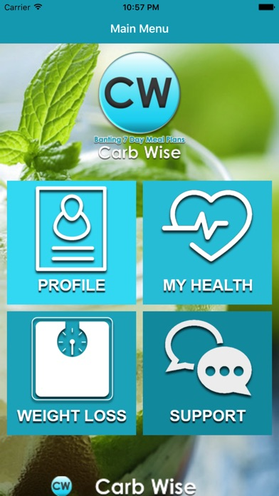 Screenshot for Carb Wise in Czech Republic App Store