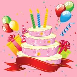 Animated Anniversary & Happy Birthday GIF Stickers