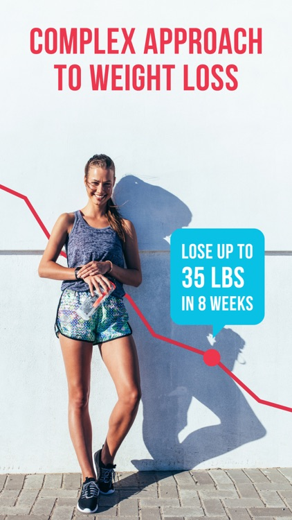 RUNNING for weight loss PRO: workout & meal plans