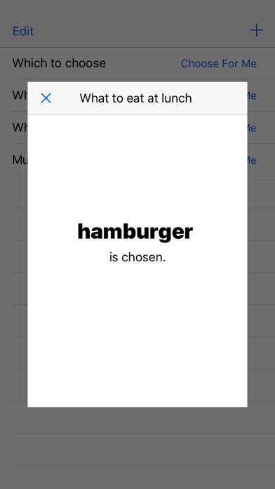 Choose For Me - Random Choice Maker screenshot 1