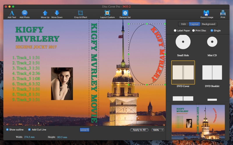 Cd Dvd Cover Pro review screenshots