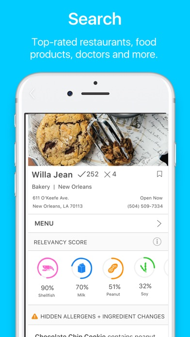 Image of Spokin - Manage Food Allergies for iPhone