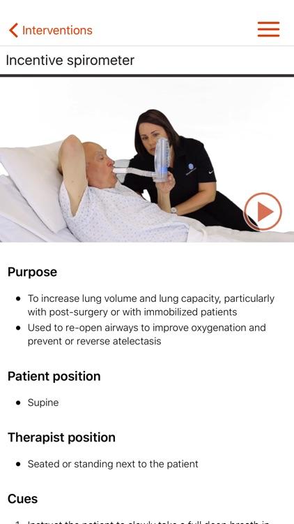 PhysioU: Cardiopulmonary Rehabilitation screenshot-3