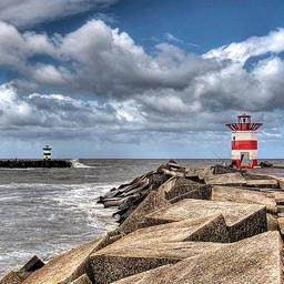 The Tides - Dutch coast, North Sea, Rhine & Rivers