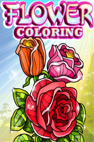 Flowers Coloring Pages for Adult with Rose Mandala - náhled