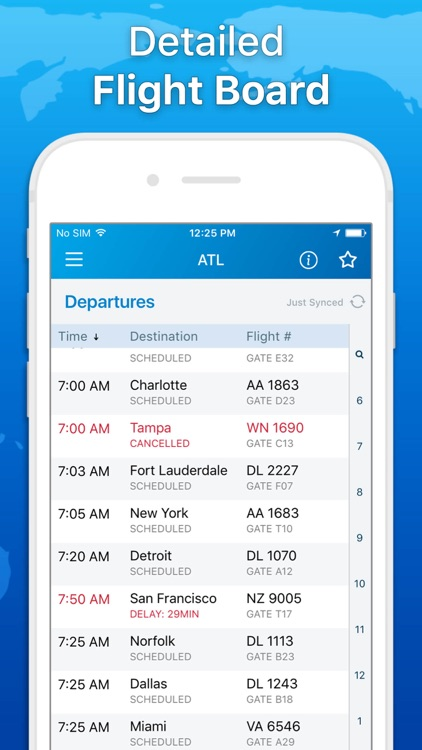 The Flight Tracker - Track Flights & Airline Info screenshot-3