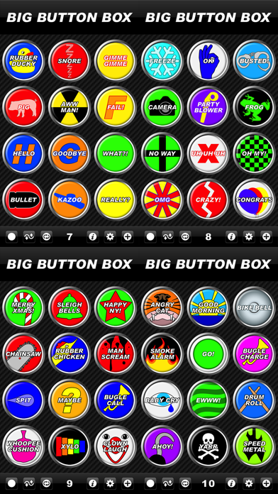 Big Button Box - funny sound effects & loud sounds app image