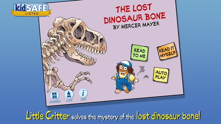 The Lost Dinosaur Bone - Little Critter