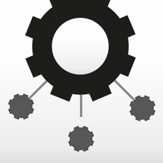 Activities of Cogwheels BW : black & white rotating gear wheel