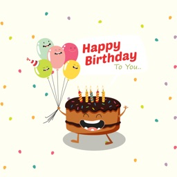 Birthday Wishes Cakes & Candles Emojis