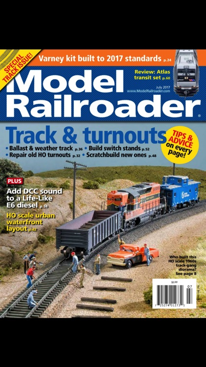 Model Railroader Issue Archive