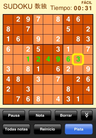 Sudoku (Free) screenshot 4
