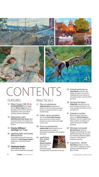 The Artist - The practical magazine for artists by artists