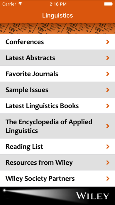 Linguistics Spotlight screenshot one