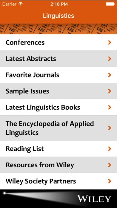 Linguistics Spotlight screenshot one