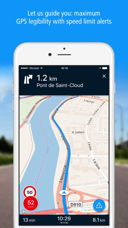 GPS Traffic Speedcam Route Planner by ViaMichelin