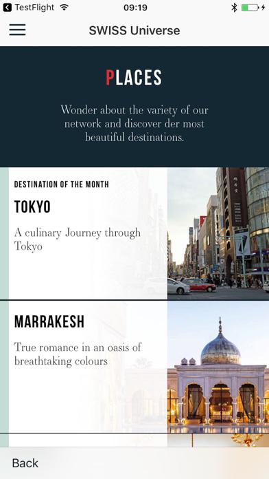 Screenshot #3 pour SWISS Universe Luxury App