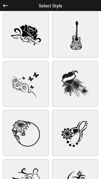 Tattoo Photo Editor -Tattoo Camera stickers screenshot-3
