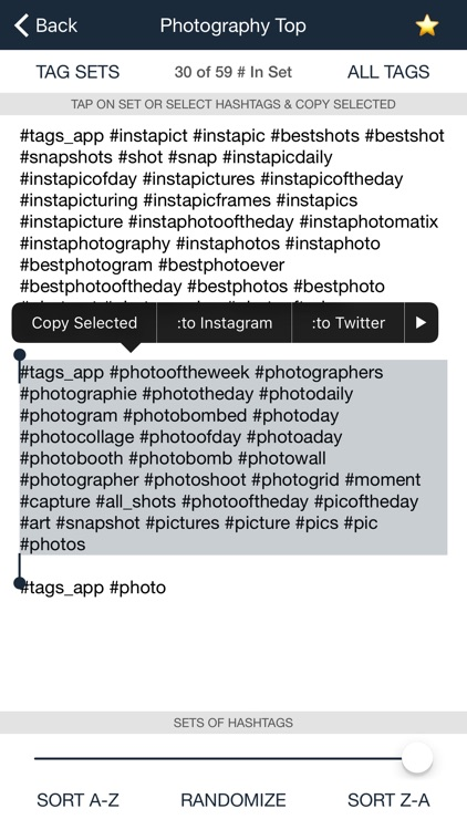 Tags Pro - Popular Hashtags for Instagram