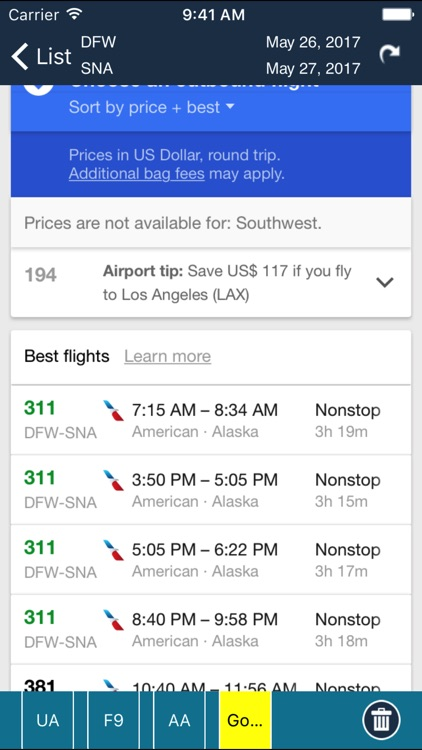 John Wayne Airport Pro (SNA) + Flight Tracker HD screenshot-4