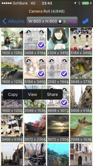 ‎BatchResizer - Quickly Resize Multiple Photos Screenshot