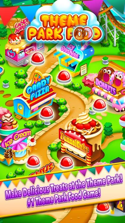 Theme Park Fair Food Maker Candy Dessert Cook Game