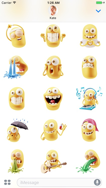 Funny Head - Stickers for iMessage