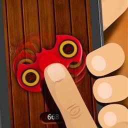 Finger Spinner - Simulator