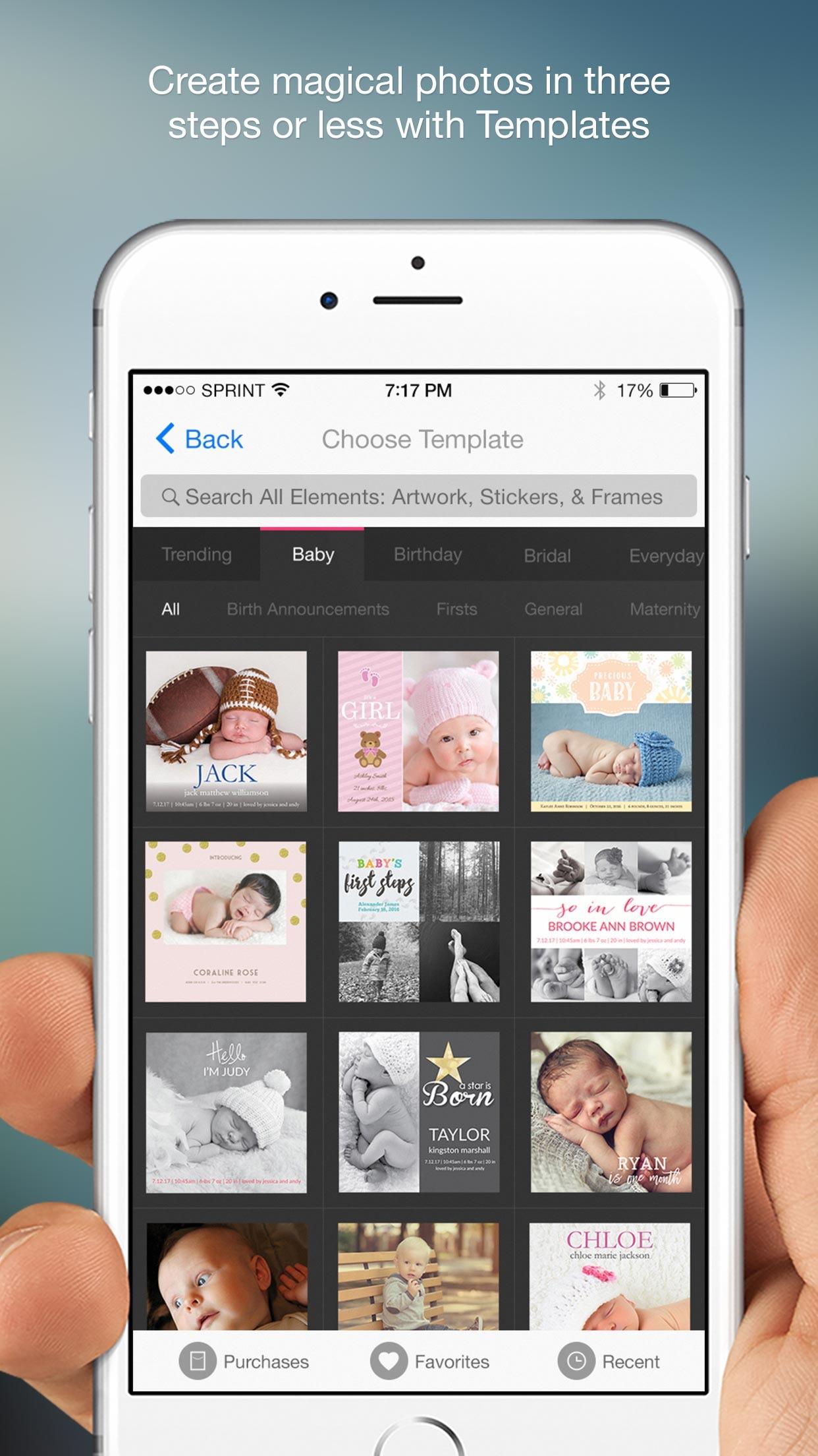 Photofy Content Creation Screenshot