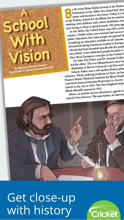 Cobblestone Magazine: U.S. history for kids