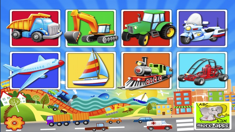 Trucks and Things That Go Puzzle Game screenshot-4