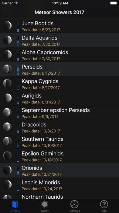 Meteor Shower Guideのおすすめ画像1