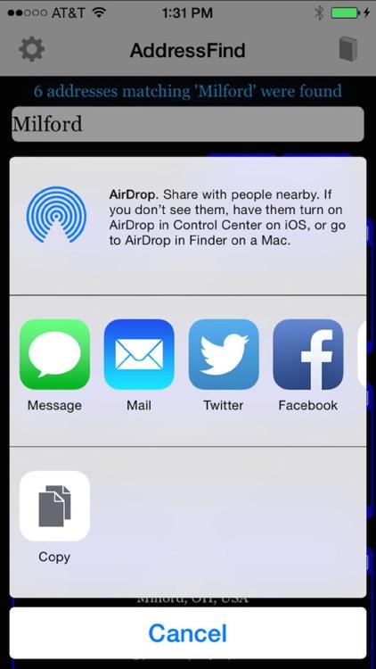 AddressFind - Find full address using partial screenshot-3