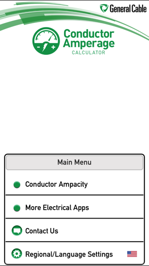 General cable conductor amps on the app store screenshots greentooth Choice Image