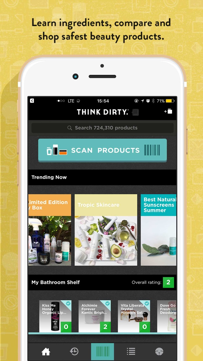 Think Dirty – Shop Clean Screenshot