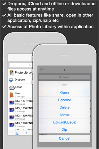 iFTP Pro - The File Transfer, Manager and Editor - náhled