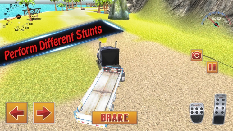 4x4 Simulator - City Animal Cargo Truck Driving 3D screenshot-3
