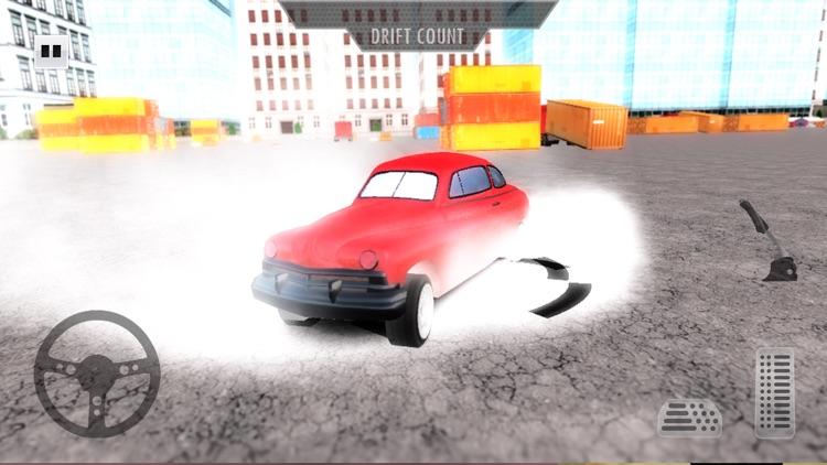 Street Drift Retro Cars Racing 2017: Freestyle screenshot-4