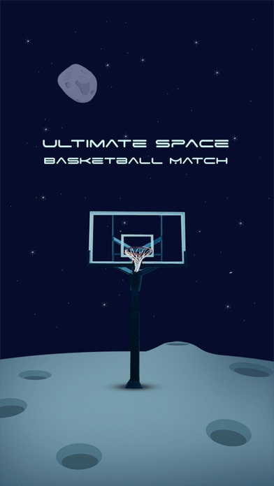 Ultimate Space Basketball Match app image