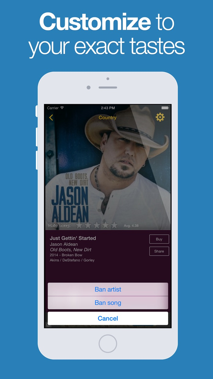 AccuRadio Screenshot